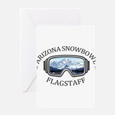 Arizona Snowbowl - Flagstaff - Ar Greeting Cards