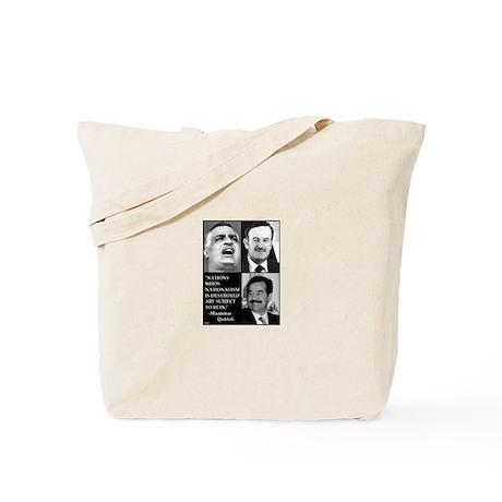Arab Nationalism Print Tote Bag