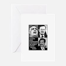 Arab Nationalism Print Greeting Cards (Package of