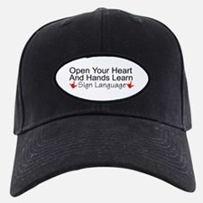 Open Your Heart And Hands Lea Baseball Hat