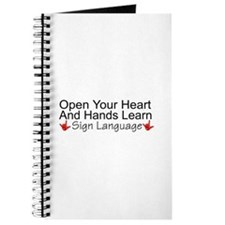 Open Your Heart And Hands Lea Journal