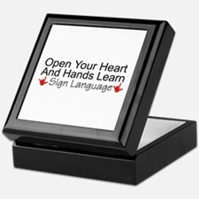 Open Your Heart And Hands Lea Keepsake Box