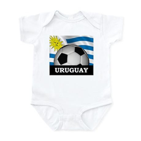 Football Uruguay Infant Bodysuit