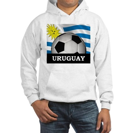 Football Uruguay Hooded Sweatshirt