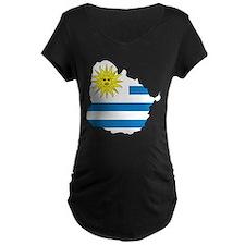 Map Of Uruguay T-Shirt