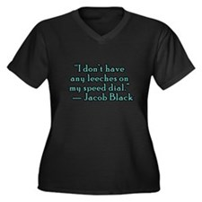 Eclipse Quotes, Jacob Black Women's Plus Size V-Ne