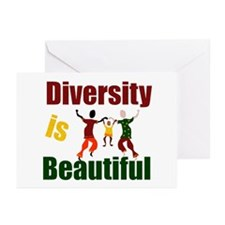 Diversity is Beautiful (3) Greeting Cards (Package