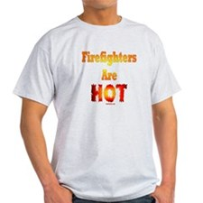 Hot Firefighters T-Shirt