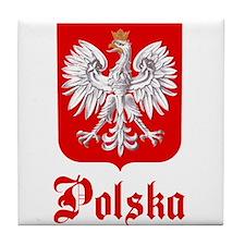 Poland Tile Coaster