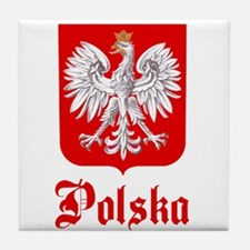 Poland Tile Coaster