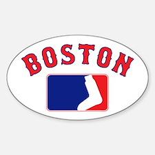 Boston Sox Fan Decal