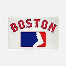 Boston Sox Fan Rectangle Magnet