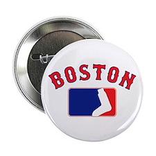 """Boston Sox Fan 2.25"""" Button"""