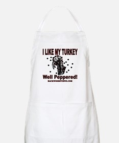 Peppered Turkey Apron