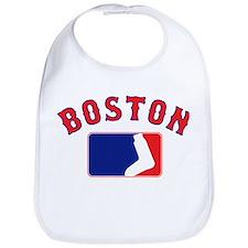 Boston Sox Fan Bib