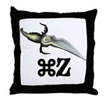 Command Z Throw Pillow