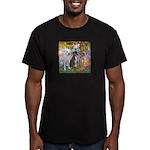 Garden / 3 Boxers Men's Fitted T-Shirt (dark)