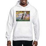 Garden / 3 Boxers Hooded Sweatshirt