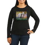Garden / 3 Boxers Women's Long Sleeve Dark T-Shirt