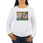 Garden / 3 Boxers Women's Long Sleeve T-Shirt