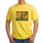 Garden / 3 Boxers Yellow T-Shirt