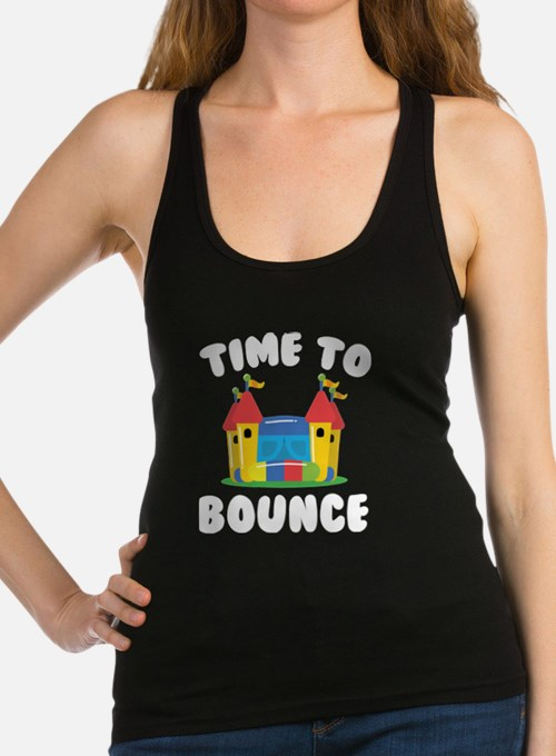 Time To Bounce Racerback Tank Top