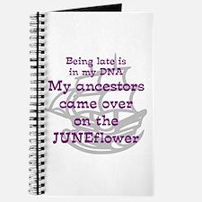 Genealogy JUNEFlower Journal