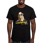 Natural Born Griller Men's Fitted T-Shirt (dark)