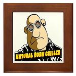 Natural Born Griller Framed Tile