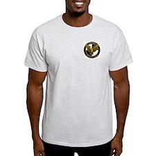 Anti-Terrorist / Anti-Terrori Ash Grey T-Shirt