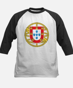 Portugal Coat Of arms Kids Baseball Jersey