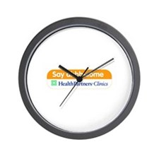Say Ahhh-some Wall Clock