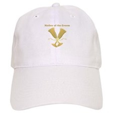 Champagne Mother of the Groom Baseball Cap