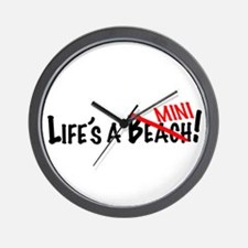 Life's a Mini Wall Clock