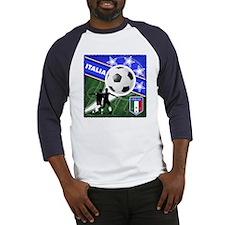 2010 Italia World Soccer Baseball Jersey