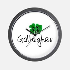 Gallagher St Patrick's Day Wall Clock