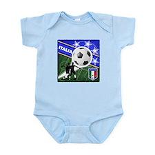 2010 Italia World Soccer Infant Bodysuit