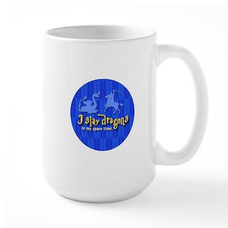 Dragon Slayer Large Mug