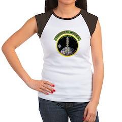 Terragens Marines Women's Cap Sleeve T-Shirt