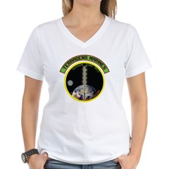 Terragens Marines Women's V-Neck T-Shirt