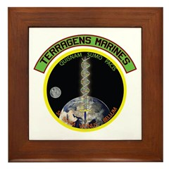 Terragens Marines Framed Tile