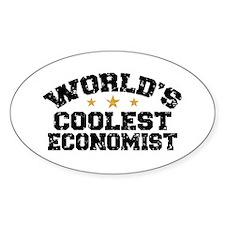 World's Coolest Economist Decal
