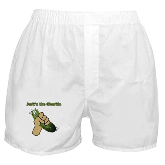 Jerk'n the Gherkin Boxer Shorts
