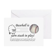 Cute Balls of yarn Greeting Card