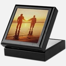 Sunset Walk Keepsake Box