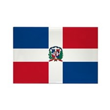 Dominican Flag Rectangle Magnet