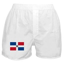 Dominican Flag Boxer Shorts