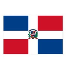 Dominican Flag Postcards (Package of 8)
