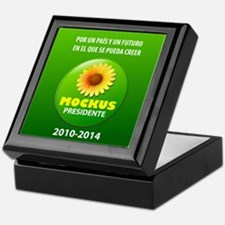 Mockus Presidente 2010-2014 Keepsake Box