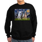 Starry / 3 Boxers Sweatshirt (dark)